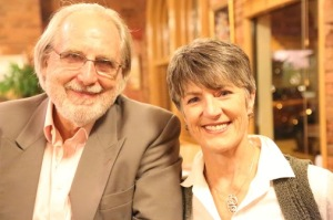 Ian Robinson, President Emeritus, and Dr Meredith Doig, President, of the RSA